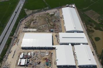 PROGRESS OF ON-GOING PROJECT IN JULY 2021