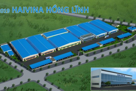 Haivina Hong Linh Factory, Hong Linh District, Ha Tinh Province