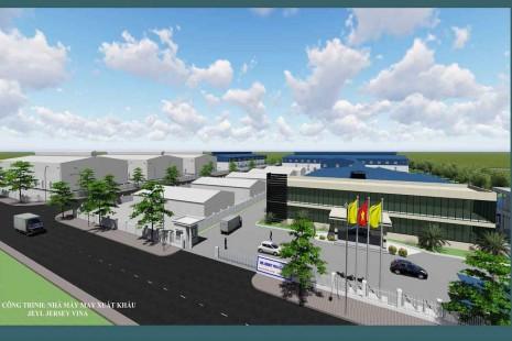Dự án nhà máy Jeil Jersey Vina số 2, Vũ Thư, Thái Bình