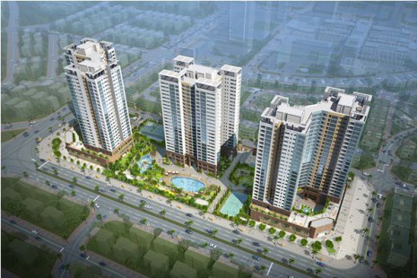 High-rise Building Apartment in the land lot H9CT1 – Tay Ho Tay New Town